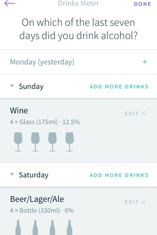 Drinks Meter screenshot 3