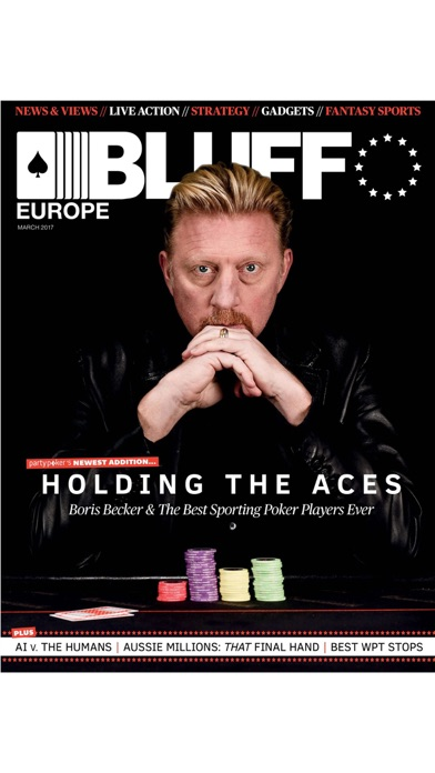 Bluff Europe Magazine review screenshots
