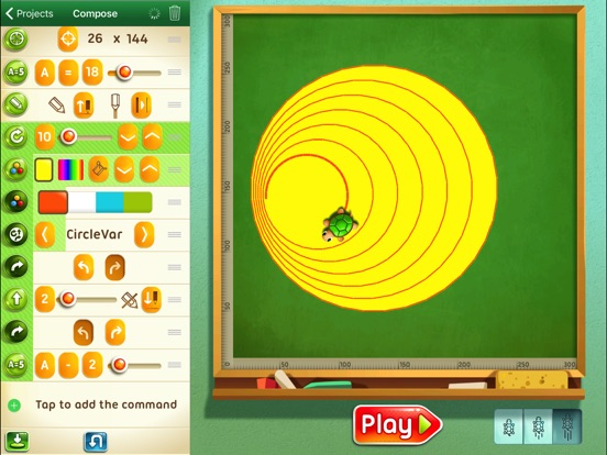 Move The Turtle. Programming For Kids Screenshot