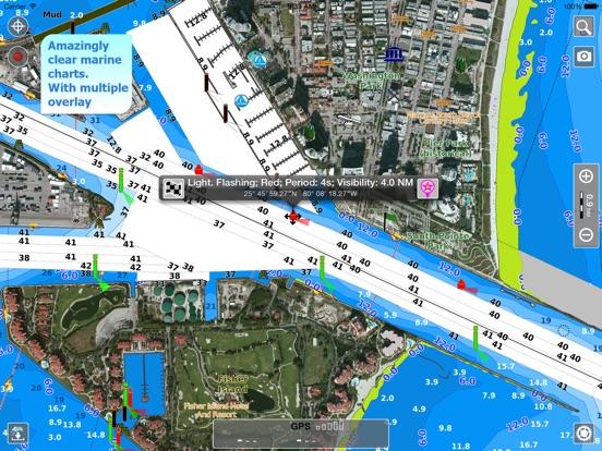 Aqua Map US GPS Boating Charts HD On The App Store - Aqua map us