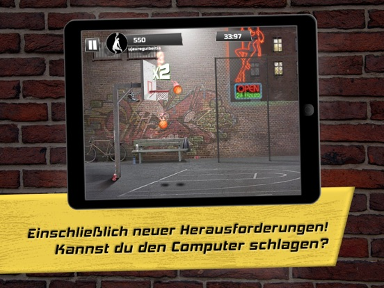 iBasket Pro - Street Basketball Screenshot