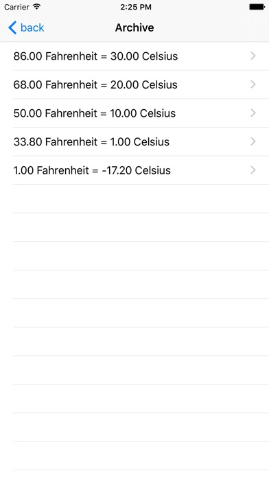 Fahrenheit Celsius Screenshot 4