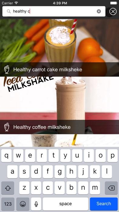 Milk Shake Recipes - Sugar Free App Download