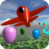 Little Airplane 3D for kids: learn colors, numbers