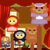 Teatro di marionette per bambini - Little Red Riding Hood