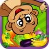 القرد السعيد - العاب ذكاء رسم تلوين