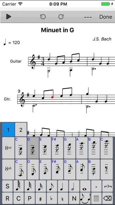 Score Creator: Make music notation, song writer Screenshots