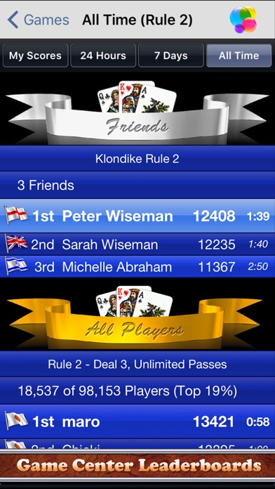 Screenshot #10 for Solitaire City (Ad Free)