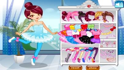 لعبة تلبيس راقصة الباليه الصغيرة و الجميلةلقطة شاشة3
