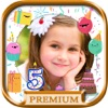 Birthday photo frames and stickers – Pro