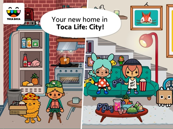 Screenshot #1 for Toca Life: City
