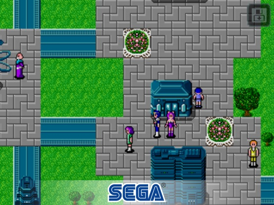 Screenshot #1 for Phantasy Star II
