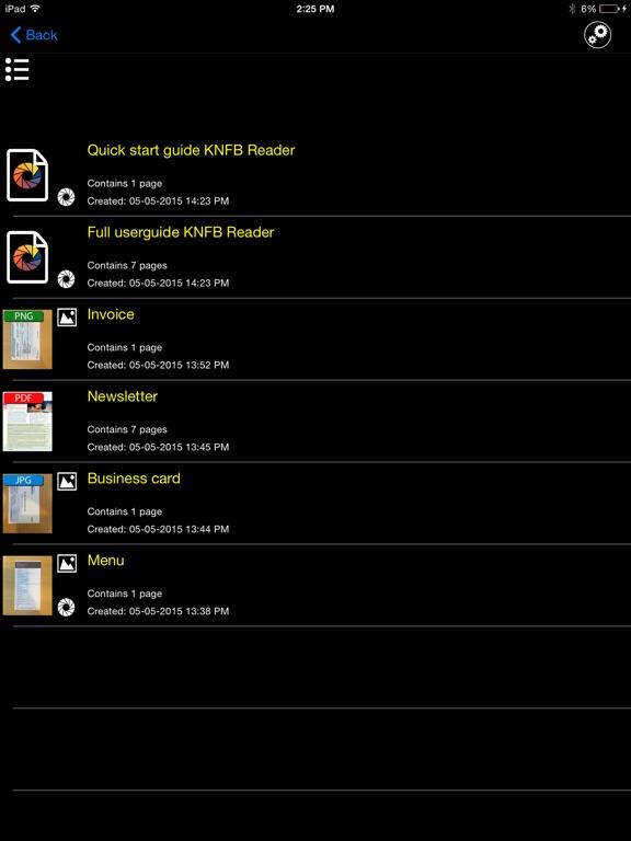 knfbReader screenshot 8