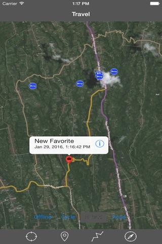 BALI (INDONESIA)– GPS Travel Map Offline Navigator screenshot 3