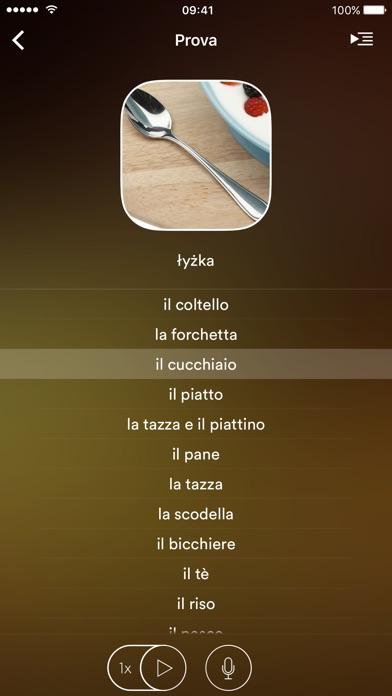 Screenshot of uTalk Classic Imparare Polacco3