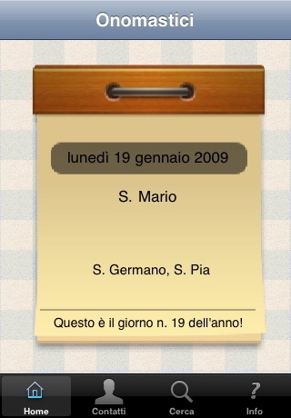 Onomastici screenshot 1