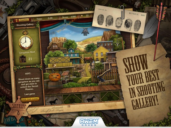 Screenshot #2 for Golden Trails: Hidden Object Adventure (Premium)