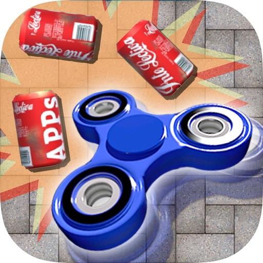 ハンドスピナー - 3Dはゲームをノックダウンすることができます