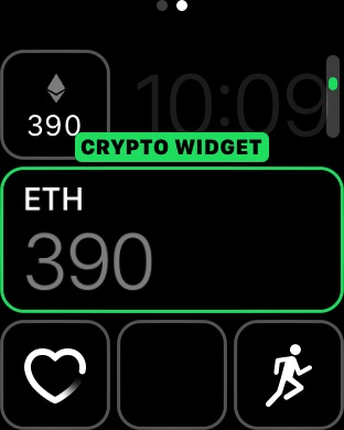 Binance Power Price Crypto Coin Widget – Art Lair