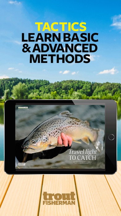 Trout Fisherman Magazine review screenshots