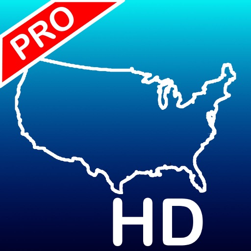Aqua Map USA HD Pro - GPS Offline Nautical Charts App Ranking & Review