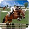 Jumping Horse 3D Simulator Racing Game -Pro
