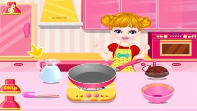 العاب طبخ كعكة ماما سارة الجميلة - العاب بنات طبخلقطة شاشة2
