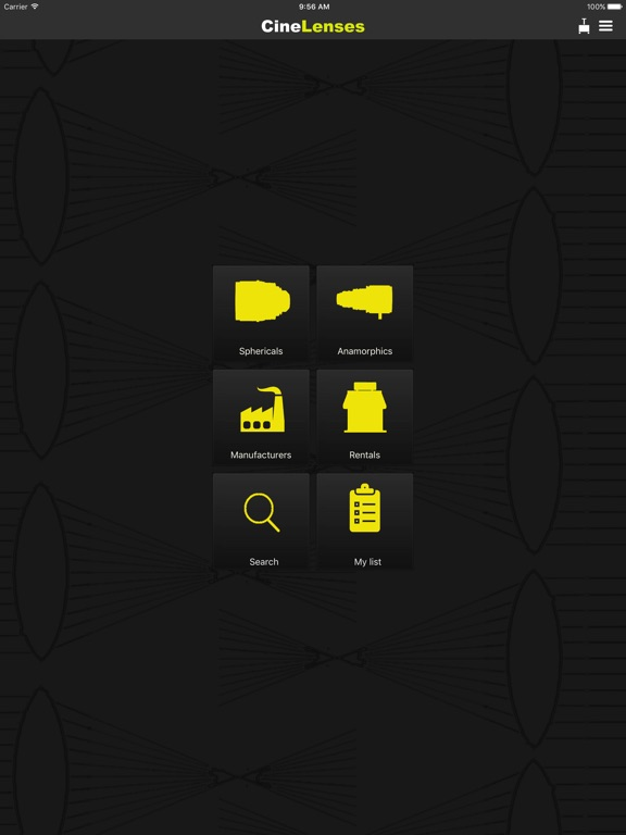 CineLenses Screenshots