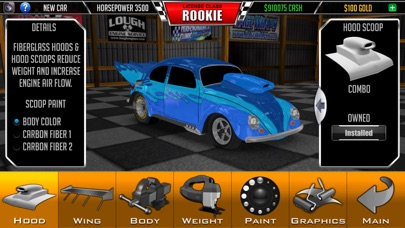 Screenshots of Door Slammers Drag Racing for iPhone