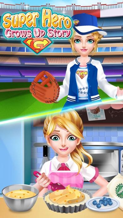 スーパーヒーロー成長ストーリー - 楽しいゲームのスクリーンショット3