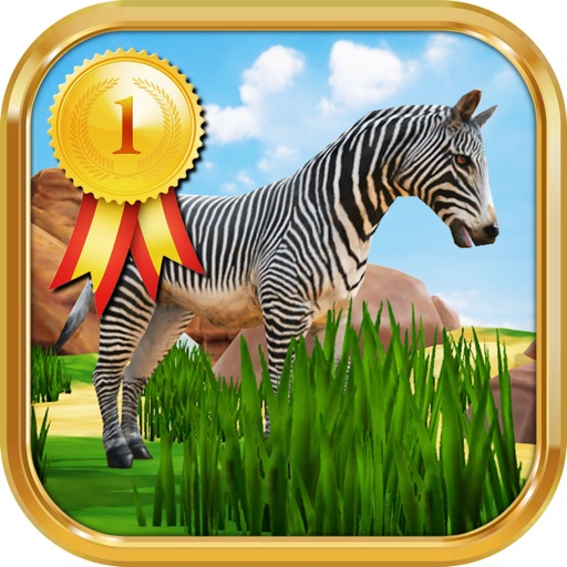 Zebra Safari Animals - Kids Game for 1-8 years old By ...