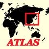 mapQWIK AO - Asia Orientale Zoomabile Atlante