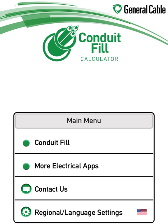 General Cable Conduit Fill Calculator On The App Store