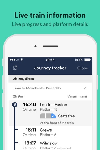 how to change trainline com ticket times