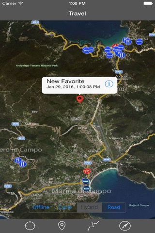 ELBA ISLAND – GPS Travel Map Offline Navigator screenshot 4