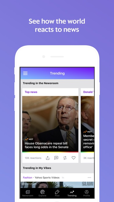 download Newsroom - News worth sharing apps 1