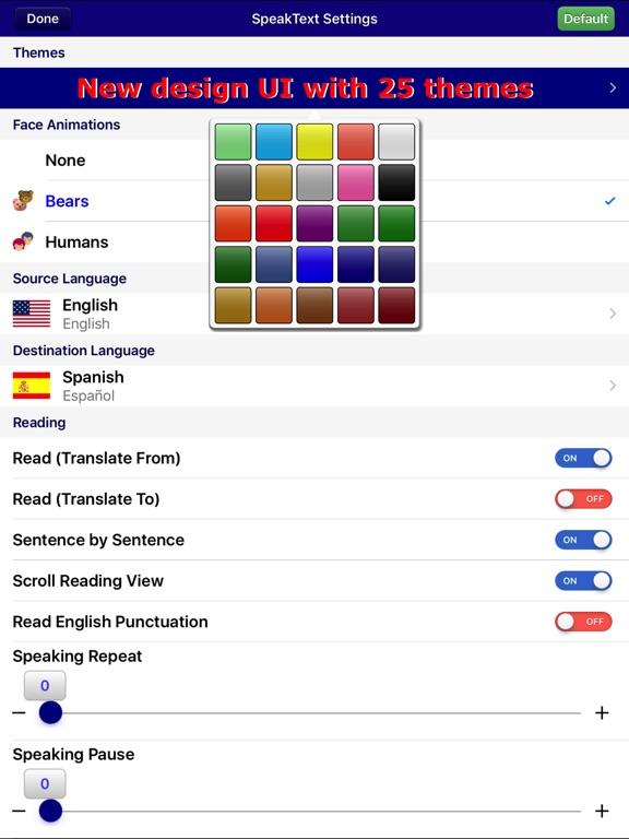 SpeakText for Office Screenshots