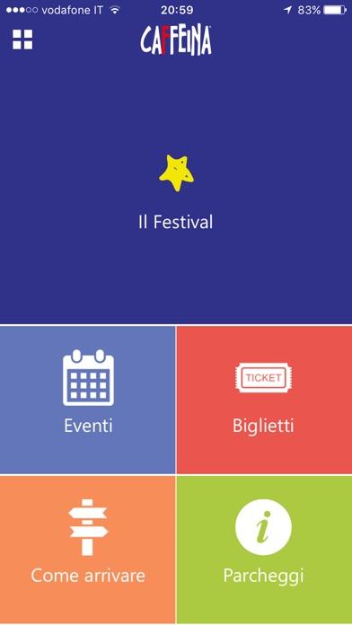 Caffeina Festival Screenshot