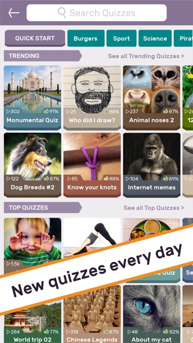PlayPhoto : Trivia Picture Quiz 1000s of Quizzes Screenshot 2