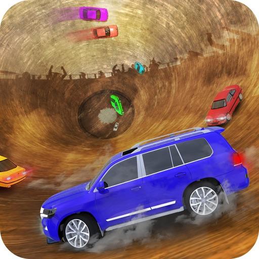 Well of Death Prado Car Stunt Rider-SUV jeep climb iOS App