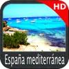 Marine : Spain Mediterranean HD GPS Map Navigator