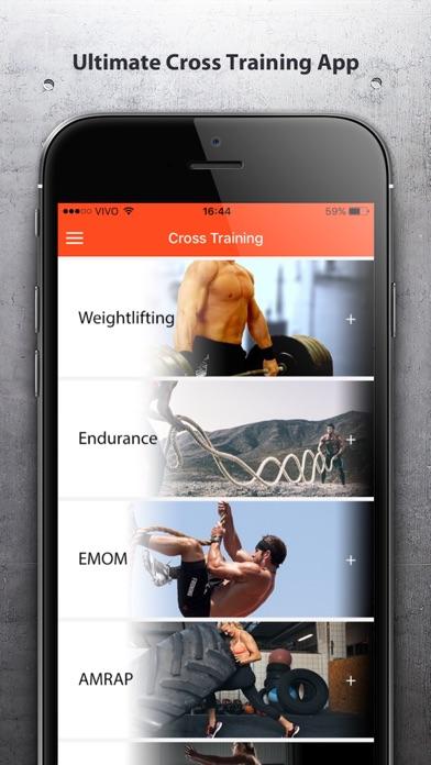 Cross Training - Fit Workouts Screenshot