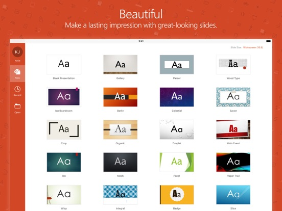 Microsoft PowerPoint Screenshots