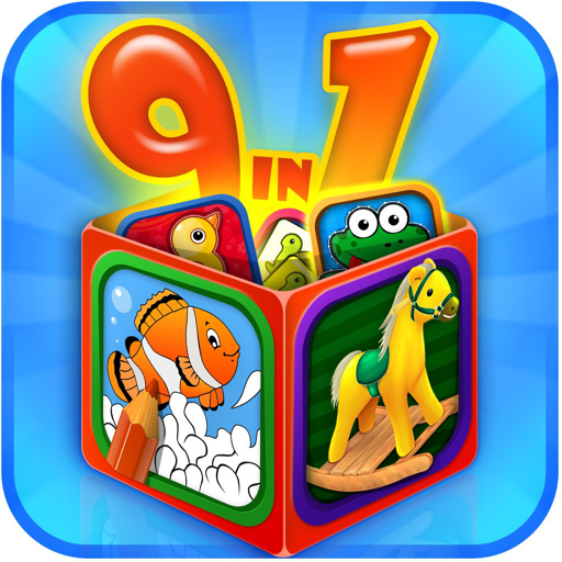 Kid's Preschool Game Box Pro For Mac
