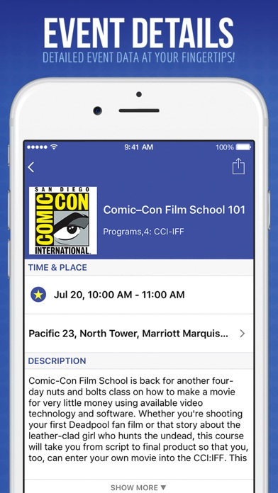 Official comic con app on the app store iphone screenshot 3 ccuart Image collections