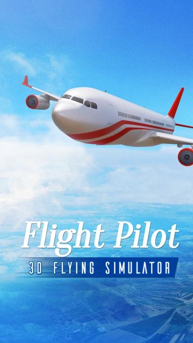 飛行パイロットシミュレータ3Dのスクリーンショット1