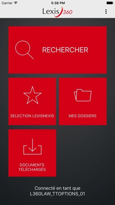 Lexis 360Capture d'écran de 2