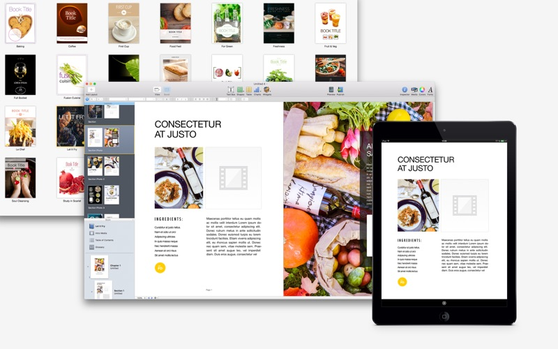 GN Food Books for iBooks Author - Templates Bundle DMG Cracked for ...