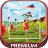 Tramboliko Games - Square white photo frames for insta – Pro artwork
