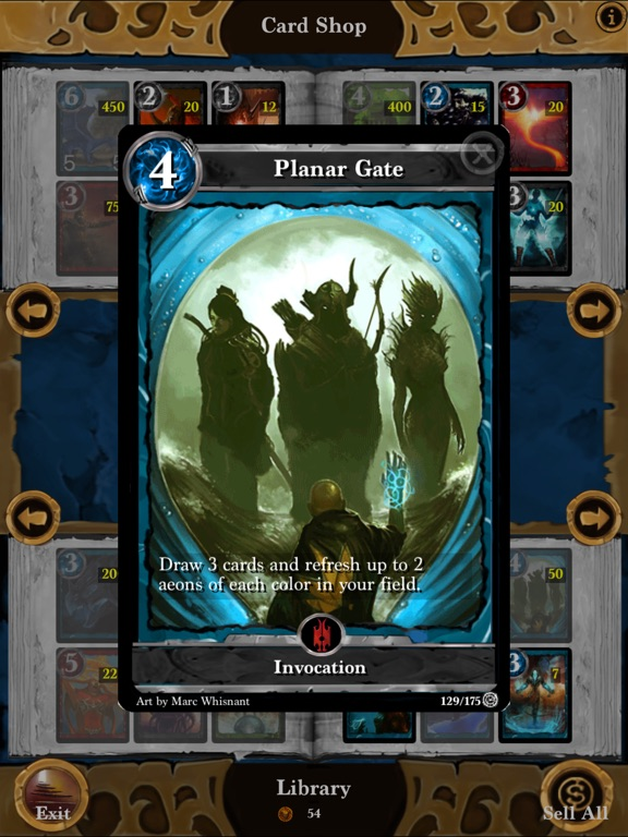 Screenshot #4 for Lost Portal CCG
